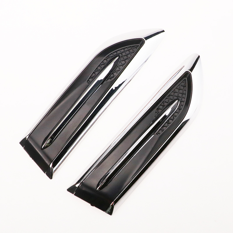 2020 New Car Shark Gills Outlet Stickers Simulation Vent False Air Outlet for Kia Rio K2 K3 K5 K4 Cerato,Soul,Forte,Sportage