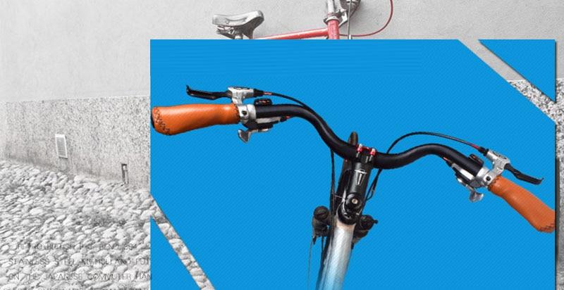 Aluminium 25.4*610mm Bicycle Handlebar M Type City Road Cycling Bike Bar Quality