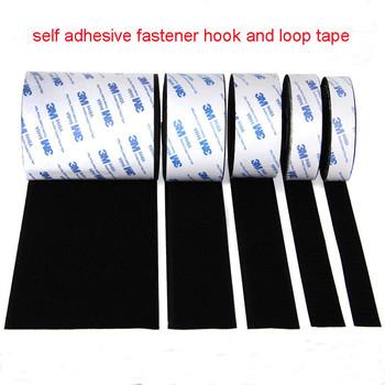 1M mocny samoprzylepny haczyk i pętelka taśma mocująca naklejki Velcros klej samoprzylepny z klejem do majsterkowania 16 20 25 30 38 50mm tanie i dobre opinie 16 20 25 30 50mm CN (pochodzenie) tape Bags DO ODZIEŻY buty Adhesive Fastener Tape Poliester nylon Przyjazne dla środowiska