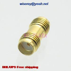 Image 1 - DHL/EMS 500pcs Adapter SMA female to SMA female straight RF COAXIAL with one year warranty  a4