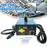 220V 1350W Car Paintless Dent Repair Remover Induction Heater Hot Box Carrosserie Reparation Dent Puller Car Dent Repair Blue
