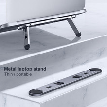 Laptop Stand Support Notebook Tablet Accessories For Macbook Pro Stand Mini Foldable Laptop Portable Holder Cooling Stand