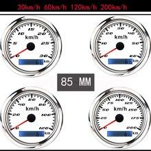 30-200 км / ч автомобильный GPS спидометр датчик ободок из нержавеющей стали 316 измеритель скорости лодки с антенной GPS подходит для мотоцикла ав...