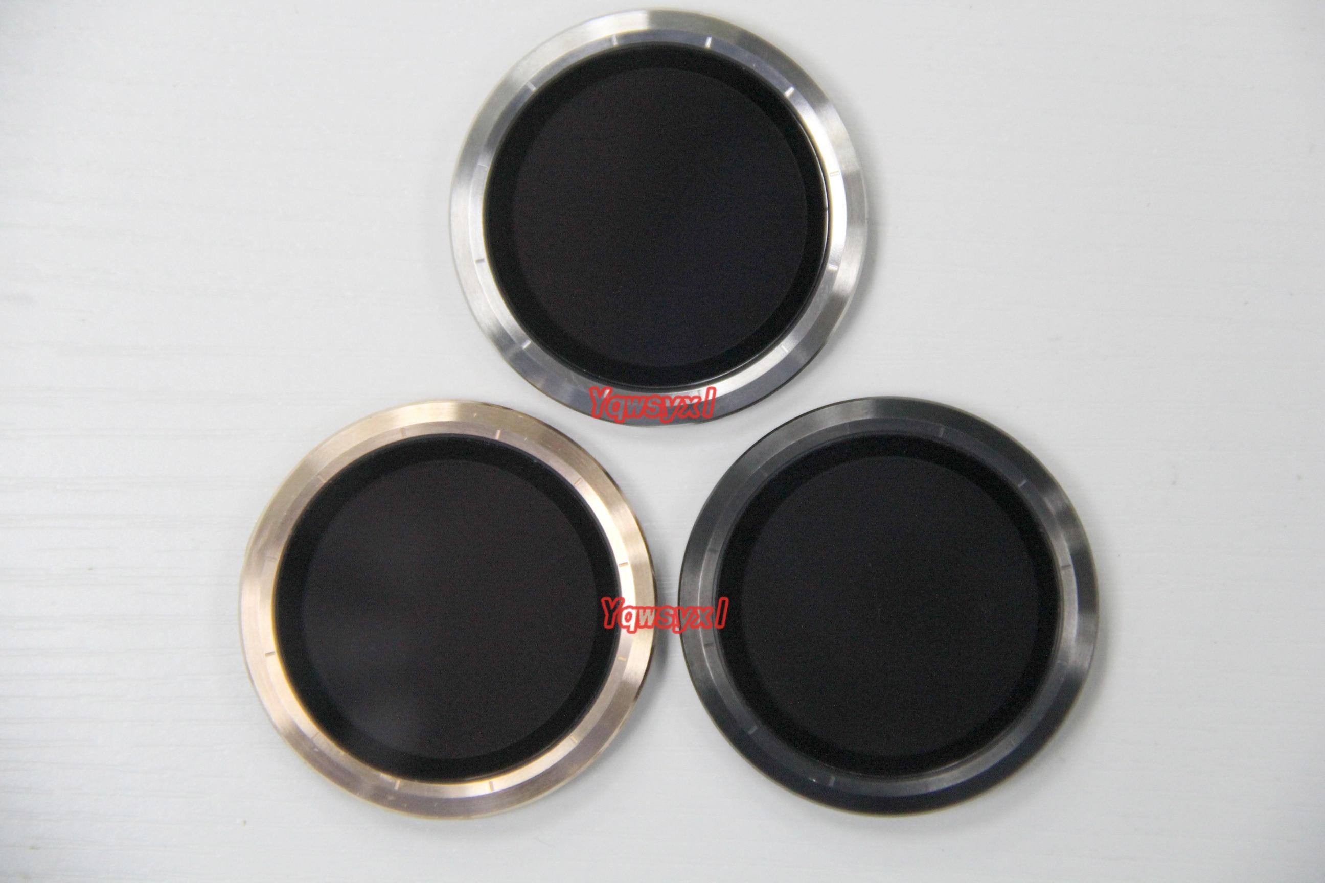 Yqwsyxl Original Slight Scratches LCD Screen Display For Garmin Vivoactive 3 Smart Watch Screen Golden/Black/silver Frame Cover
