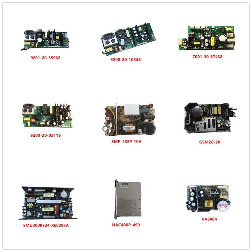 9201-20-35902| 9200-20-10538| 7001-30-67438| 9200-20-05116| SMP-43EP-10A| GSM28-28| SMU300PS24| HAC400P-490| VA5004 Used