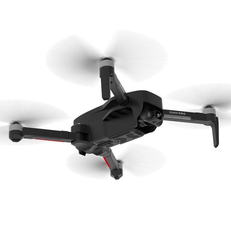 Sg906 Pro Drone 4k HD Mechanical Gimbal Camera 5g Wifi GPA System Supports Tf Card Flight 25 Min Rc Distance 1.2km