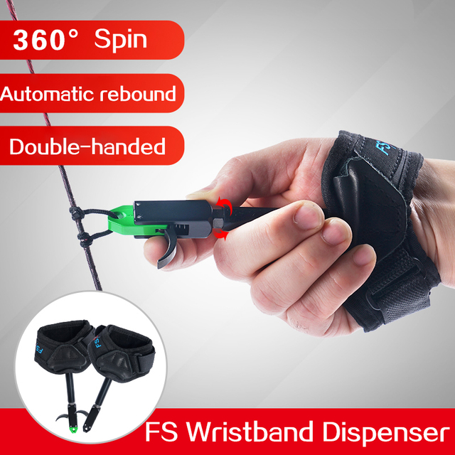 Compound Bow Release of Durable Metal for Strength Saving Hand Protector Archery Accessory