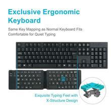 Mini Tastatur Bluetooth Tragbare Faltbare Drahtlose Tastatur für iOS Android