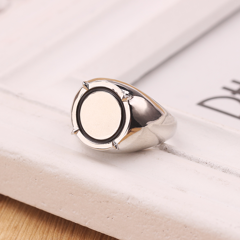 Classic Rings For Children Unisex Fashionable Plastic Jewelry Party Cosplay Gift