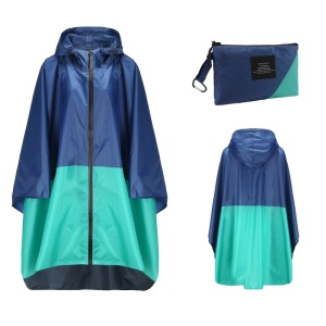 Image 3 - Poncho Raincoat Womens Fashion Rain Coats Waterproof men Rain Poncho Cloak with Hood for Hiking Climbing Touring