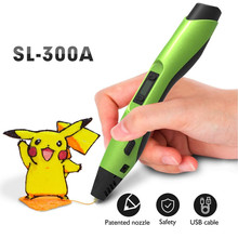 Enotepad SL-300A 3D stylo écran LED bricolage 3D stylo d'impression avec 100M ABS/PLA Filament pour enfants conception dessin stylos impression stylo