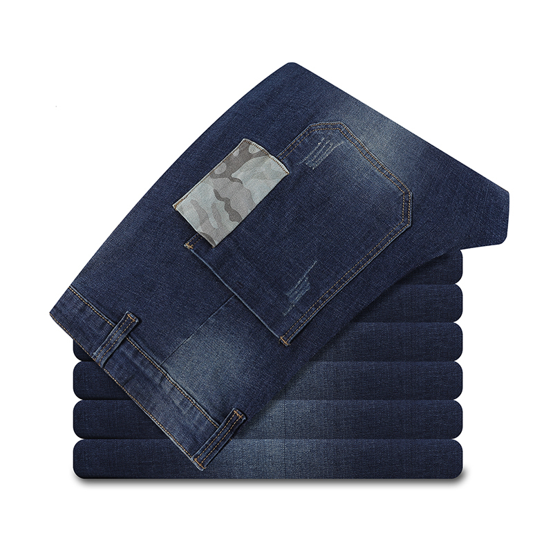 Plus Size 12xl Men Jeans Pants Elastic Large Big Patchwork Hipster Pencil Pants Straight 7xl  8xl 9xl Fall Loose Jeans
