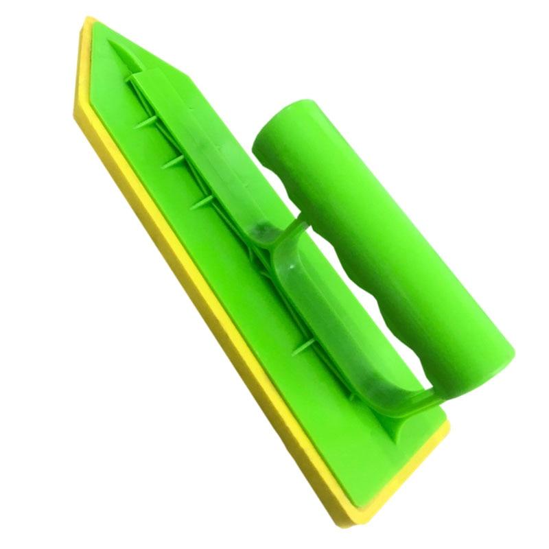 Tile Caulking Trowel Rubber Handle Builders Masons Sponge Trowel Plastering Bucket Trowel Bricklayer Tool