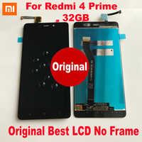 Xiaomi-smartphone Redmi 4 Original, 16GB / 4 Pro Prime, 32GB, pantalla LCD, 10 puntos de contacto, montaje del digitalizador de pantalla, Sensor con marco