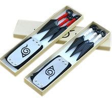 Аниме Наруто ролевые аксессуары набор Наруто сюрикен для косплея Handbank кунай оружие сасуке ниндзя реквизит мультфильм коллекция подарочная коробка