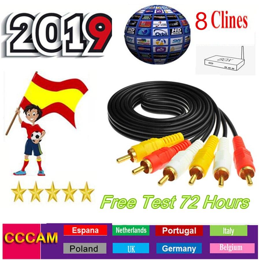 8 Lineas Ccam Poland Cccam Portugal For Spain Germany Receptor Satelite Cccam 4k Enigma2 Satellite Receiver Cccams Oscam Cline