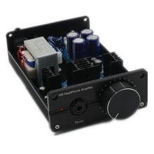 LAmini Headphone Amplifier Class A Pure DC BD139 BD140 HiFi Headphone Amp Finished