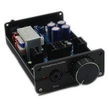 Lamini fone de ouvido amplificador classe a puro dc bd139 bd140 amplificador de alta fidelidade fone de ouvido amp terminado
