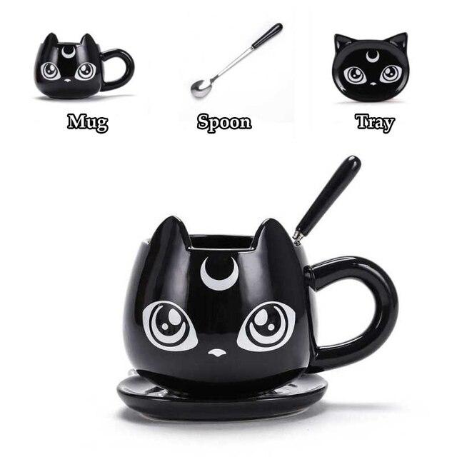 Black Cat Ceramics Coffee Mug 3