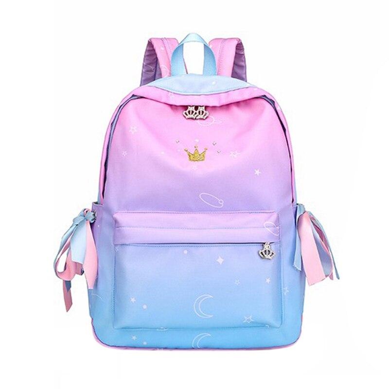 Orthopedic Backpacks School Children Schoolbags For Girls Primary School Book Bag School Bags Printing Backpack