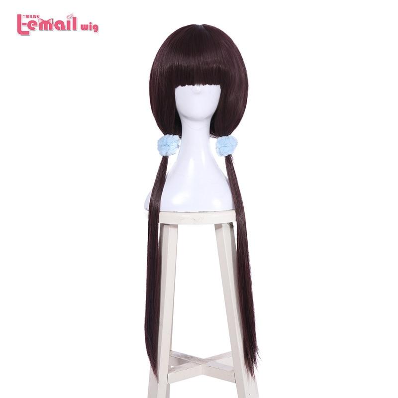 L-e-mail peruca mistura s cosplay perucas maika sakuranomiya kaho hinata hideri kanzaki mafuyu hoshikawa miu amano peruca sintética cosplay