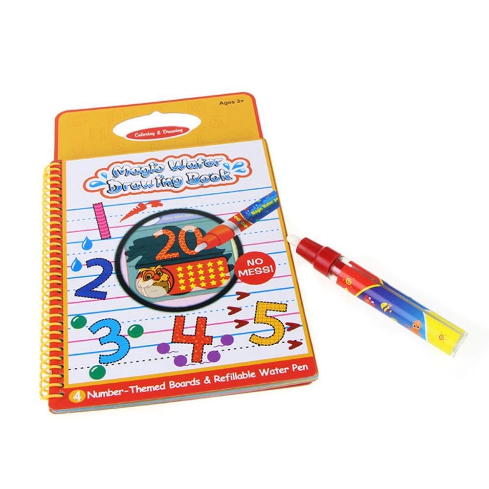 1 Pc Reusable Magic Water Drawing Pen Drawing Book Water Brush Non Toxic Clear Water Painting Cloth Pen Toy Graffiti Pen