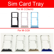 SIM Card Tray Holder For Xiaomi CC9 CC9e Mi A3 Micro Sim Rea
