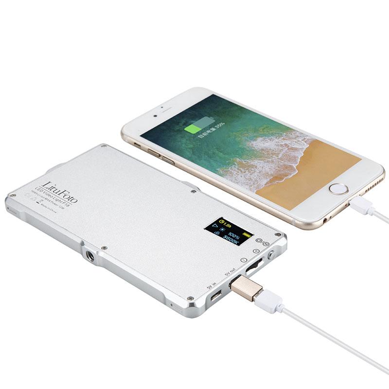 Litu Foto F18 Ultra Thin Dimmable OLED Display 4
