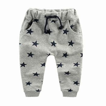 Baby Boy's Harem Star Patterned Pants 4