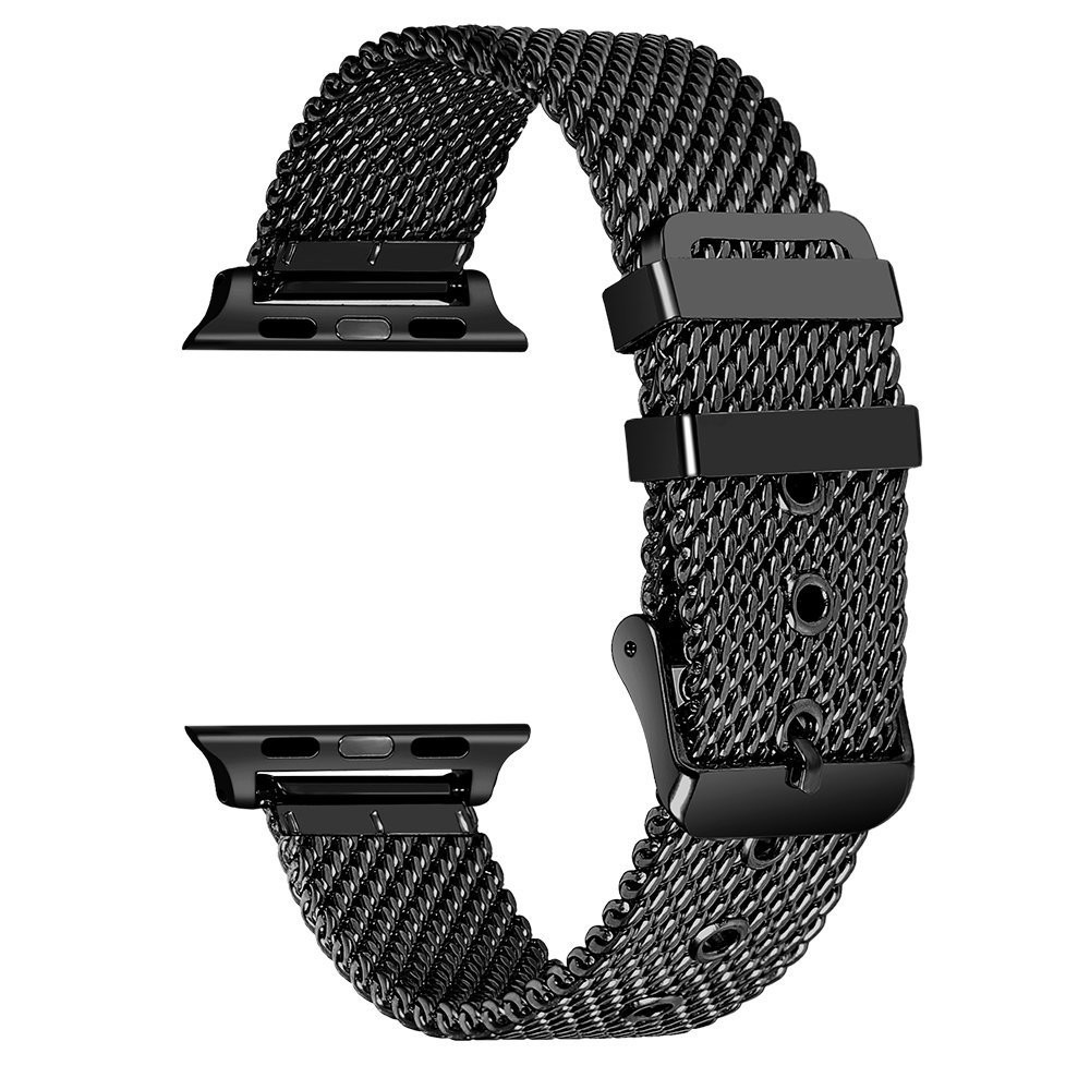 Suitable For APPLE Watch Smart Watch One Two Three Generation Universal 38/42 Coarse Mesh Pin Buckle Stainless Steel Watch Band