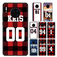 Case Coque Voor Huawei Mate 10 Lite 20 Lite 10 20 30 Pro Y5 Y6 Y7 Y9 Prime 2019 Y9S shell Cover Exo Nummer Bos Items(China)