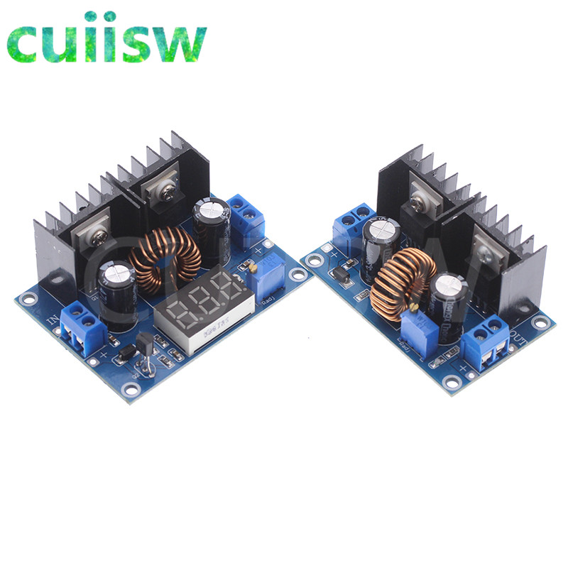 XL4016 PWM Регулируемый понижающий модуль платы 4-36 в до 1,25-36 в, максимальный понижающий преобразователь 8A 200 Вт, источник питания