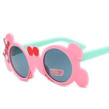 Cute Mouse Ear Sunglasses Kids Boy Girl Clear Resin Lens Sun Glasses Children Fashion Metal Baby Girls Goggles UV400 oreka fashion nylon resin lens uv400 protection sunglasses black