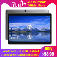 Alldocube iPlay10 Pro da 10.1 pollici Wifi Tablet Android 9.0 MT8163 quad core 1200*1920 IPS Tablet PC RAM 3GB di ROM 32GB HDMI OTG