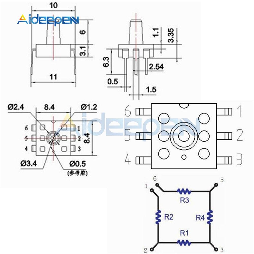 MPS20N0040D-D Sphygmomanometer Air Pressure Sensor Monitor Diagnostic Fr Arduino
