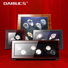 Automatische Holz Uhr Wickler Box Zubehör Display Mechanische Rotierenden uhr uhrenbeweger für männer uhr cheap Dariucs CN (Herkunft) Automatik Uhr