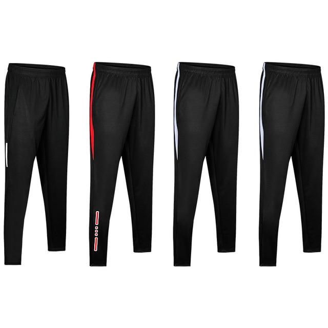 New Jogging Pants Men Breathable Sport Sweatpants Zip Pocket Training Pants Gym Workout Pants Athletic Soccer  Running Trousers 6