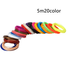 5M Replacement Solid Tool Professional 1.75mm 20 Colors Office Durable 3d Pen Filament Printing Materials High Strength PLA