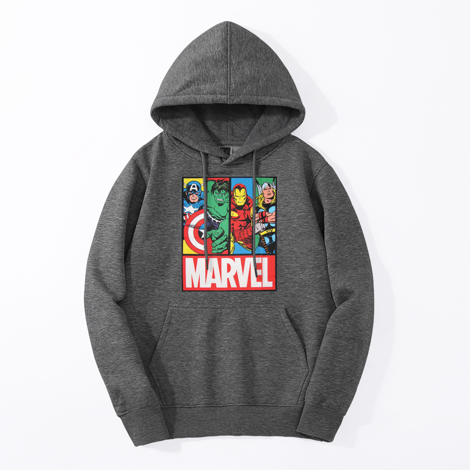 New Mens Marvel Hoodies Super Hero The Avengers End Game Hoody Casual Fleece Iron Man Hulk Hooded Tracksuit Hip Hop Streetwear