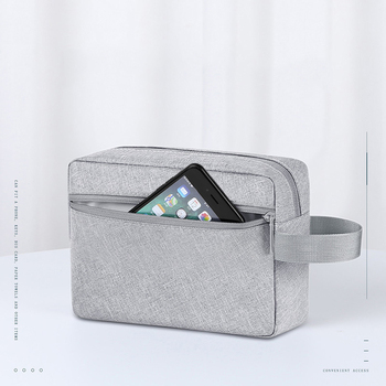 цена на Portable Travel Digital Bag Waterproof Women Key Phone Ipad Storage Case Weekend Overnight Cosmetic Organizer Pouch Accessories