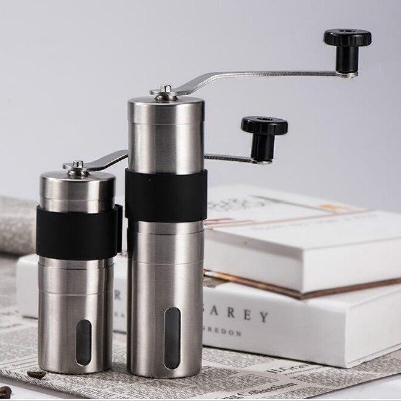 1 adet manuel kahve değirmeni 30/40g yıkanabilir seramik çekirdek ev mutfak Mini ev faydalı aracı lo124959