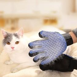 Dog Pet brush Glove Deshedding Gentle Efficient Pet Cat Grooming Supply Glove Dog Bath Cat Cleaning Supplies Pet Glove Dog Combs