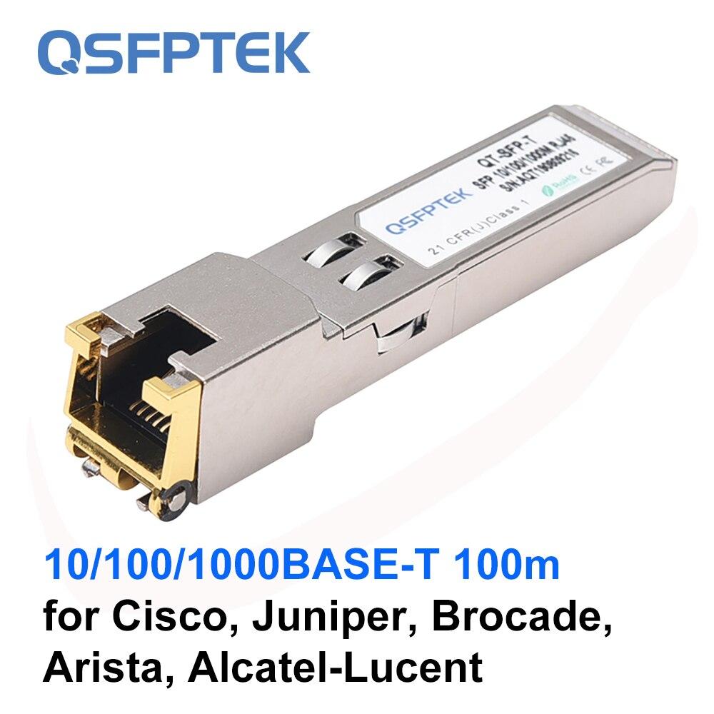 New Retail Original Cisco GLC-T 1000BASE-T SFP transceiver RJ-45 connector
