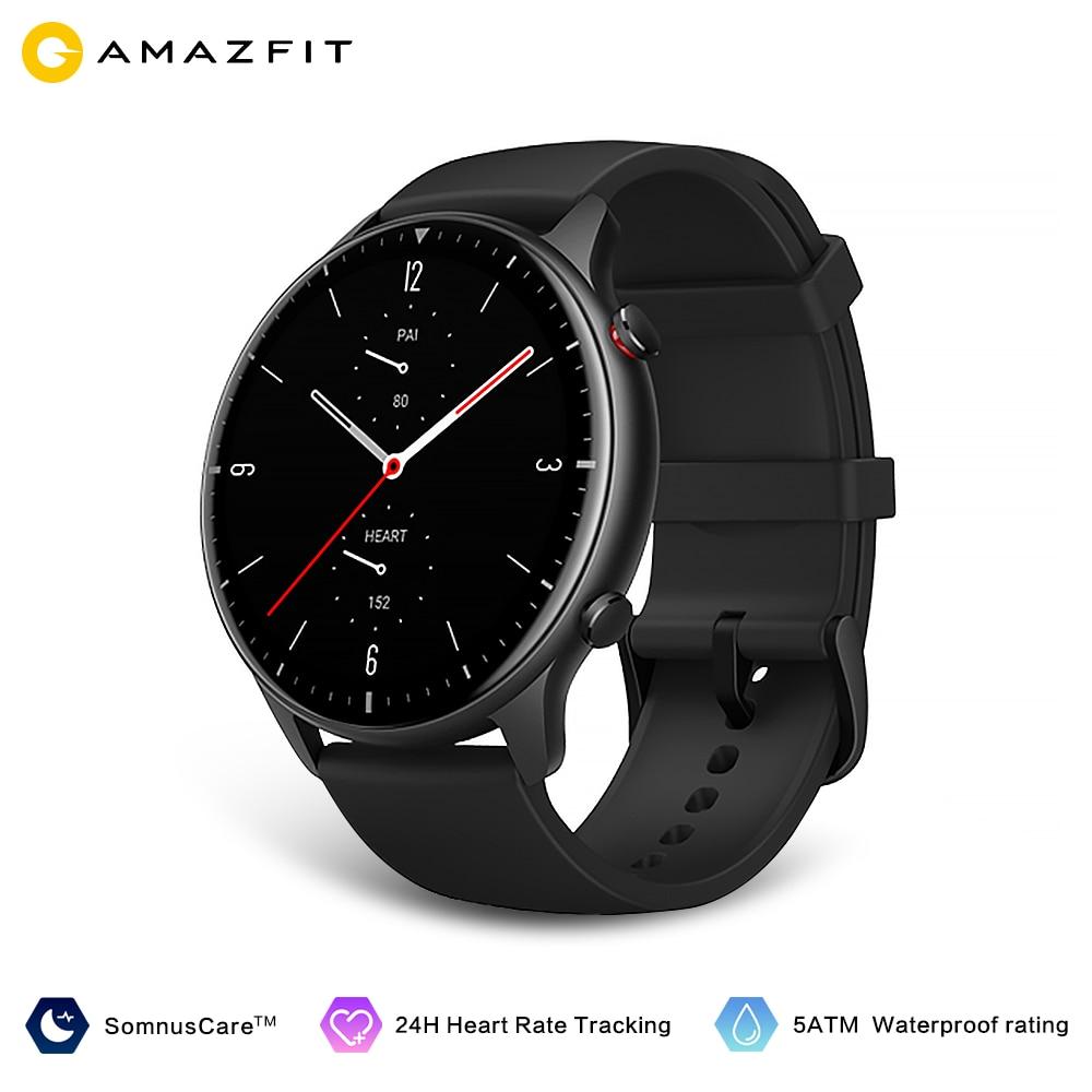 Amazfit GTR 2 Smartwatch 14 дней Срок службы батареи 5ATM уверенно время Управление мониторинг сна Смарт часы для телефонов на Android iOS 1