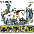Jurassic Dinosaur World 2 Velociraptor mini Park Dino Figure Building Blocks Bricks Compatible with Toys For Children