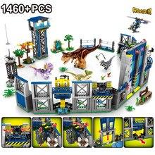 Minifiguras de dinosaurios de Jurassic World 2 para niños, bloques de construcción compatibles con juguetes