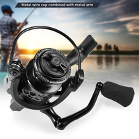Smooth bearing Metal coil Fishing Spinning Reel 1000 2000 3000 4000 5000 6000 Wheel Aluminum Arm EVA Handle Saltwater Fish tool|Fishing Reels| |  -