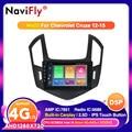 Автомагнитола NaviFly для Chevrolet Cruze J300 J308 2012-2015, мультимедийный видеоплеер, навигация GPS, Android 10,0/9,0, 2 din, DVD