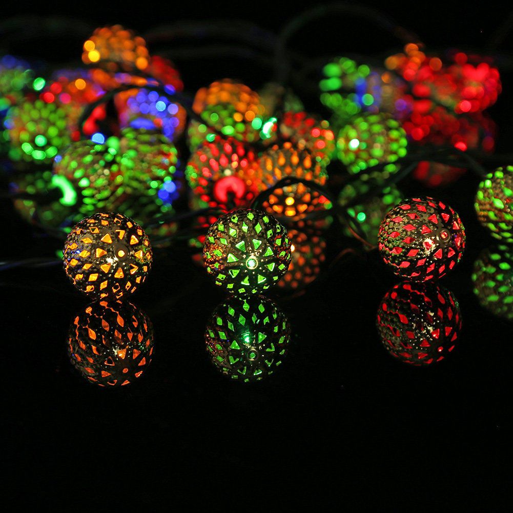 lampada de energia solar guirlanda natal lampada 05