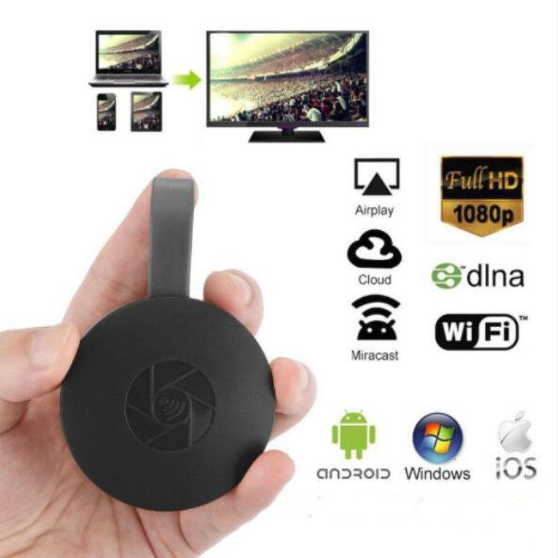 HDMI Wireless Display Receiver WiFi 2.4G 1080P Mobile Screen Cast Mirroring Adapter Dongle display Pusher for Netflix YouTube image